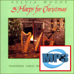 Three Harps for Christmas #1 by Sylvia Woods mp3 DOWNLOADS
