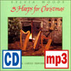 Three Harps for Christmas #1 recording by Sylvia Woods - <span class='red'> <b>Silent Night mp3 download</b></span>