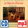 Three Harps for Christmas #2 recording by Sylvia Woods - <span class='red'> <strong>The Little Drummer Boy / Do You Hear What I Hear? mp3 download</strong></span>