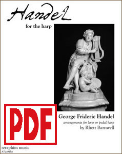Handel for the Harp by Rhett Barnwell <span class='red'>PDF Download</span>