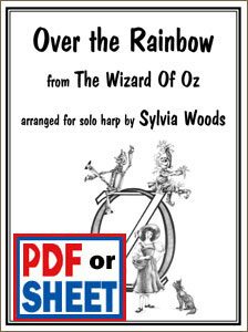 Over the Rainbow from The Wizard of Oz arranged by Sylvia Woods