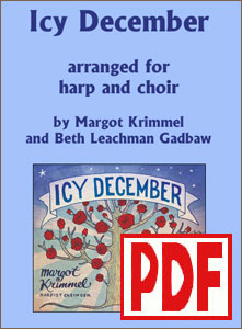 Icy December for Harp and Choir by Margot Krimmel PDF Download