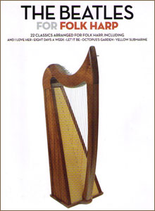 The Beatles for Folk (Lap) Harp <span class='blue'>Book</span> by Maeve Gilchrist