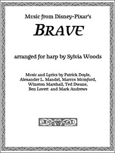 Music from Disney Pixar Brave booklet arranged by Sylvia Woods