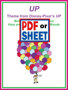 Up theme from the Disney Pixar film arranged by Sylvia Woods
