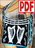 PDF PATTERN for Knitting the Carry a Tune  Music Bag