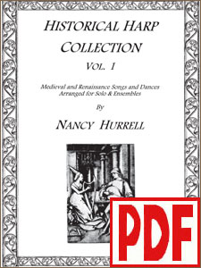 Historical Harp Collection #1 by Nancy Hurrell <span class='red'>PDF Download</span>