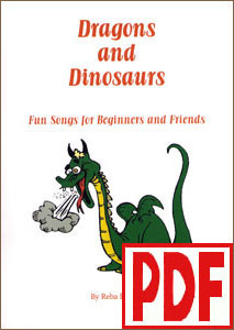 Dragons and Dinosaurs by Reba Lunsford <span class='red'>PDF Download</span>