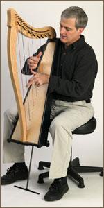 Drop-Down Leg for Ravenna and Boulevard Harps