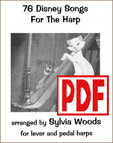 76 Disney Songs for the Harp by Sylvia Woods PDF Download