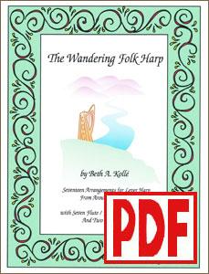 The Wandering Folk Harp by Beth Kollé <span class='red'>PDF Download</span>