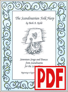 The Scandinavian Folk Harp by Beth Kollé <span class='red'>PDF Download</span>