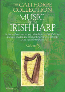Music for the Irish Harp, Vol. 3 book by Nancy Calthorpe - $19.95