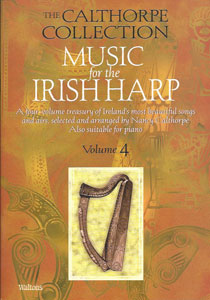 Music for the Irish Harp, Vol. 4 book by Nancy Calthorpe - $19.95
