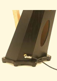 Harp Pickup by Dusty Strings for 24-string to 30-string Harps