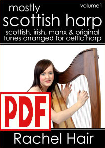 Mostly Scottish Harp #1 by Rachel Hair <span class='red'>PDF Download</span>
