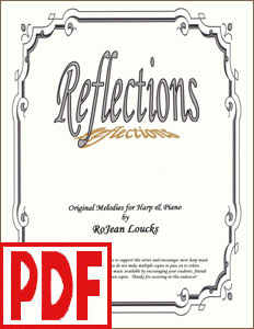 Reflections by RoJean Loucks <span class='red'>PDF Download</span>