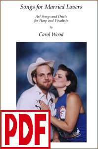 Songs for Married Lovers for Harp and Voice by Carol Wood <span class='red'>PDF Download</span>