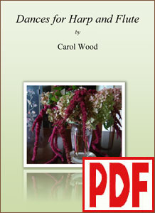 Dances for Harp and Flute by Carol Wood PDF Download
