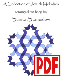 Collection of Jewish Melodies by Sunita Staneslow <span class='red'>PDF Download</span>