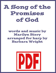 A Song of the Promises of God arranged by Barbara Wright PDF Download