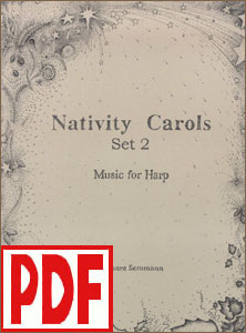 Nativity Carols Set #2 by Barbara Semmann <span class='red'>PDF Download</span>