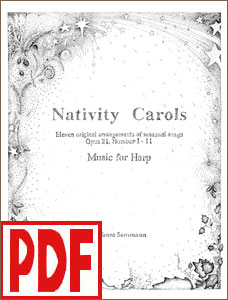 Nativity Carols Set #1 by Barbara Semmann <span class='red'>PDF Download</span>