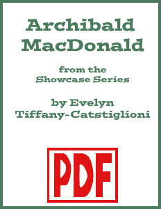 Archibald MacDonald arranged by Evelyn Tiffany-Castiglioni <span class='red'>PDF Download</span>