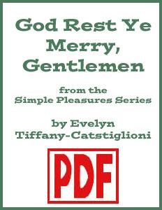 God Rest Ye Merry Gentlemen arranged by Evelyn Tiffany-Castiglioni PDF Download
