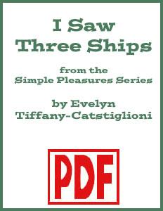 I Saw Three Ships arranged by Evelyn Tiffany-Castiglioni <span class='red'>PDF Download</span>
