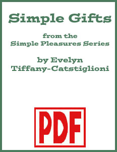 Simple Gifts arranged by Evelyn Tiffany-Castiglioni <span class='red'>PDF Download</span>
