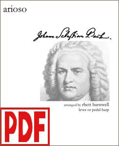 Arioso by Bach arranged by Rhett Barnwell PDF Download