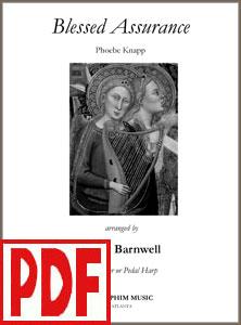 Blessed Assurance arranged by Rhett Barnwell PDF Download