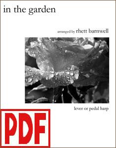 In the Garden arranged by Rhett Barnwell <span class='red'>PDF Download</span>