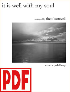 It is Well with My Soul arranged by Rhett Barnwell <span class='red'>PDF Download</span>