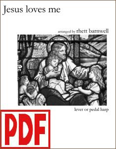Jesus Loves Me arranged by Rhett Barnwell PDF Download