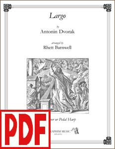 Largo by Dvorak arranged by Rhett Barnwell <span class='red'>PDF Download</span>
