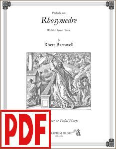 Prelude on Rhosymedre arranged by Rhett Barnwell <span class='red'>PDF Download</span>