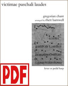 Victimae Paschali Laudes arranged by Rhett Barnwell <span class='red'>PDF Download</span>