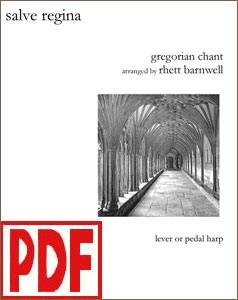 Salve Regina arranged by Rhett Barnwell <span class='red'>PDF Download</span>
