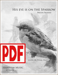 His Eye Is on the Sparrow arranged by Brook Boddie <span class='red'>PDF Download</span>