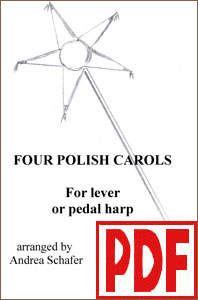 4 Polish Carols by Andrea Schafer <span class='red'>PDF Download</span>
