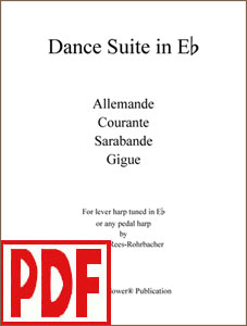 Dance Suite in E-flat composed by Darhon Rees-Rohrbacher <span class='red'>PDF Download</span>
