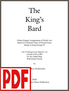 King's Bard arranged by Darhon Rees-Rohrbacher <span class='red'>PDF Download</span>