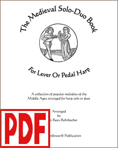 Medieval Solo-Duo Book arranged by Darhon Rees-Rohrbacher <span class='red'>PDF Download</span>