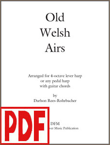 Old Welsh Airs arranged by Darhon Rees-Rohrbacher <span class='red'>PDF Download</span>