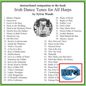 Companion to Irish Dance Tunes by Sylvia Woods  - mp3 Download
