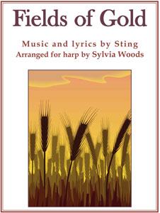Sylvia Woods Harp Center Lap Harp Music Books Fields Of