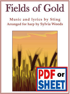 Fields of Gold by Sting arranged by Sylvia Woods