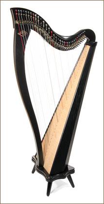 Dusty Strings Boulevard 34 Gut-Strung Harp